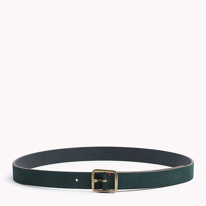 TOMMY JEANS Square Buckle Leather Belt - ORCHID PINK - TOMMY JEANS Women - main image