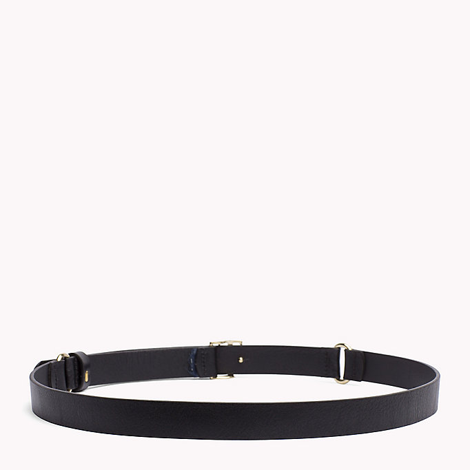 TOMMY HILFIGER Leather Belt - CORPORATE CLRS - TOMMY HILFIGER Women - detail image 1