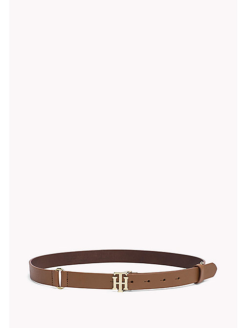 TOMMY HILFIGER Leather Belt - TAN - TOMMY HILFIGER Belts - main image