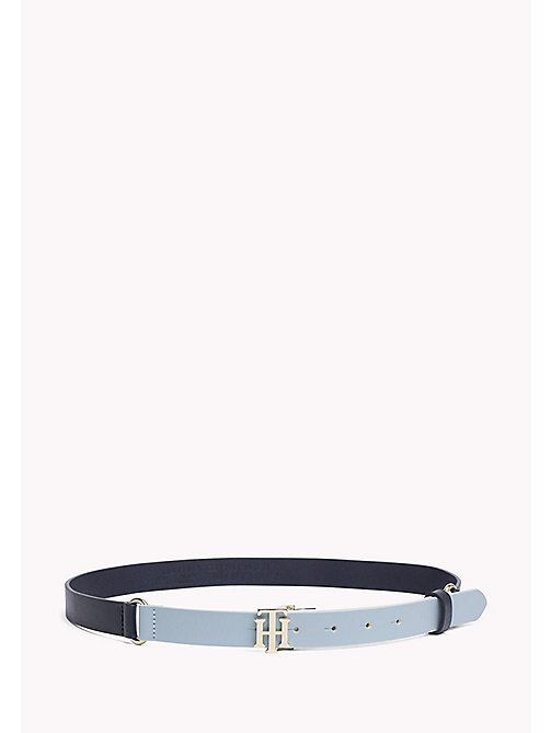 TOMMY HILFIGER Leather Belt - NAVY - TOMMY HILFIGER Belts - main image
