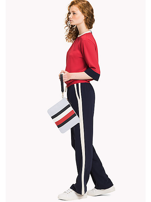 TOMMY HILFIGER Mix 'n' Match Canvas Stripe Clutch - CORP STRIPE - TOMMY HILFIGER Gifts for Her - detail image 1