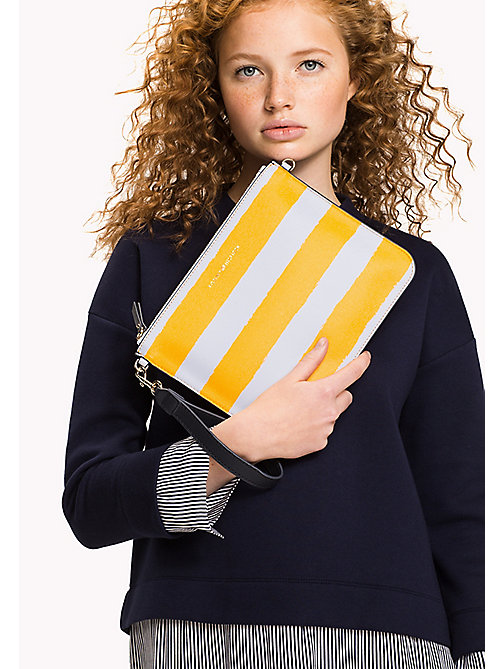 TOMMY HILFIGER Mix 'n' Match Rugby Clutch - RUGBY STRIPE - TOMMY HILFIGER Bags & Accessories - detail image 1