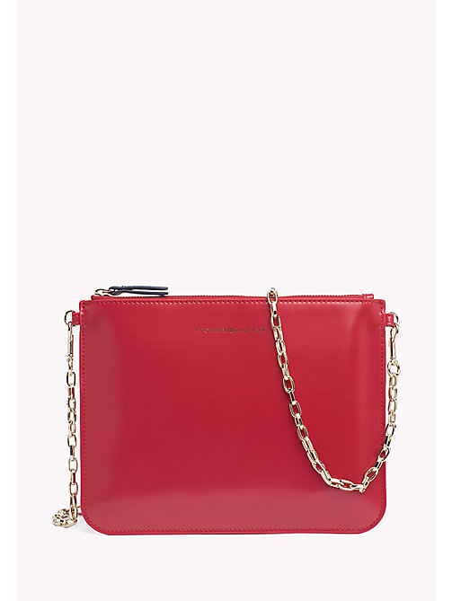 TOMMY HILFIGER Mix 'n' Match Patent Crossover Bag - TOMMY RED - TOMMY HILFIGER Gifts for Her - main image