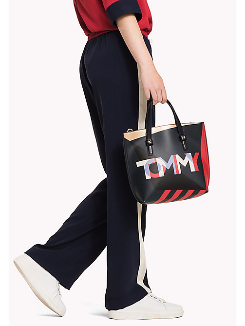 TOMMY HILFIGER Small Crossover Tote Bag - CORP MIX - TOMMY HILFIGER Bags - detail image 1