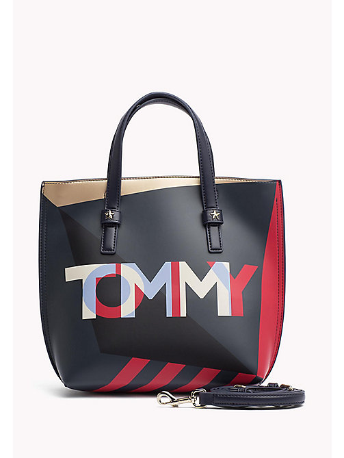 TOMMY HILFIGER Small Crossover Tote Bag - CORP MIX - TOMMY HILFIGER Bags - main image