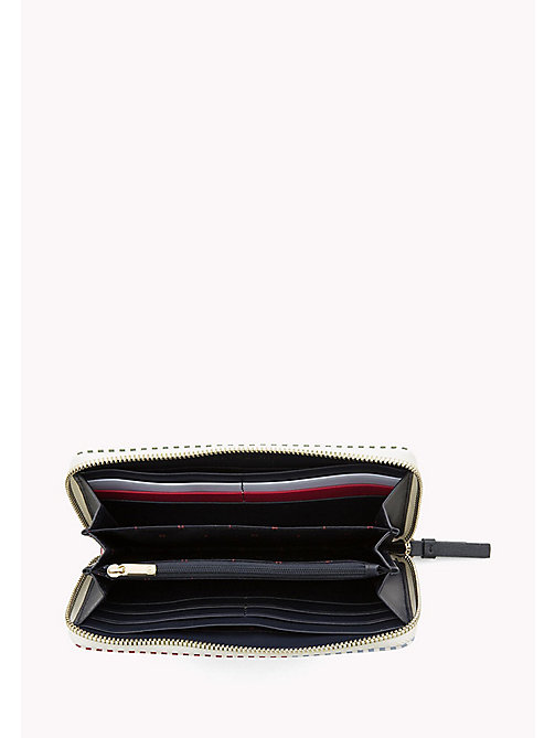 TOMMY HILFIGER Large Zip-Around Stripe Wallet - STRIPE MIX - TOMMY HILFIGER Wallets & Keyrings - detail image 1