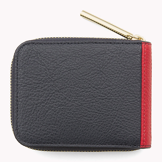 TOMMY HILFIGER Small Zip-Around Wallet - HEATHER MIX - TOMMY HILFIGER Women - detail image 1