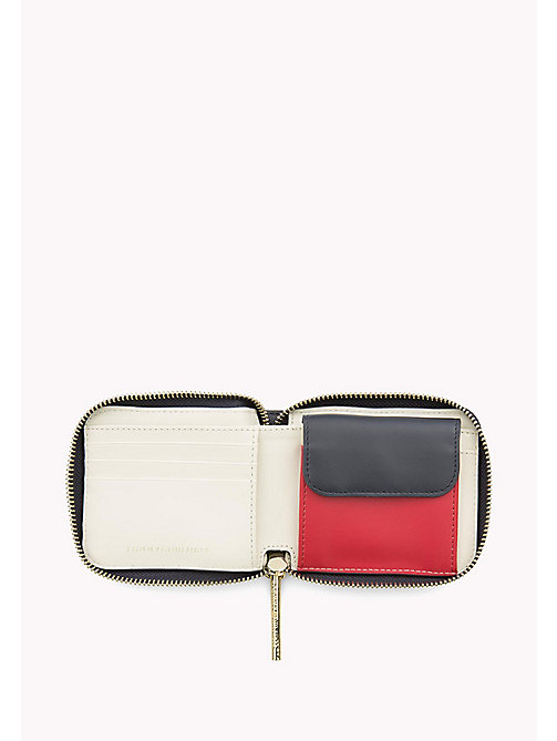 TOMMY HILFIGER Small Zip-Around Wallet - CORP MIX - TOMMY HILFIGER Wallets & Keyrings - detail image 1