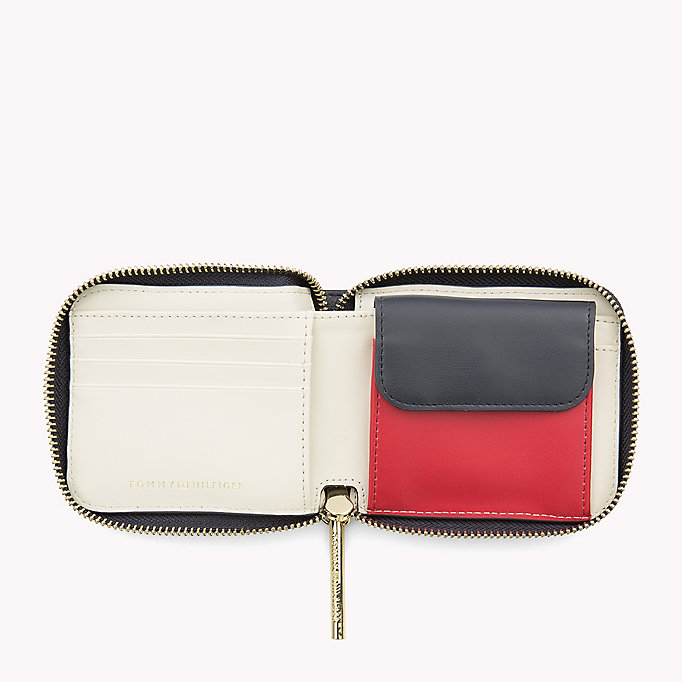 TOMMY HILFIGER Small Zip-Around Wallet - HEATHER MIX - TOMMY HILFIGER Women - detail image 2