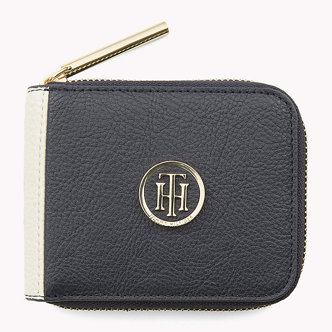 TOMMY HILFIGER Small Zip-Around Wallet - HEATHER MIX - TOMMY HILFIGER Women - main image