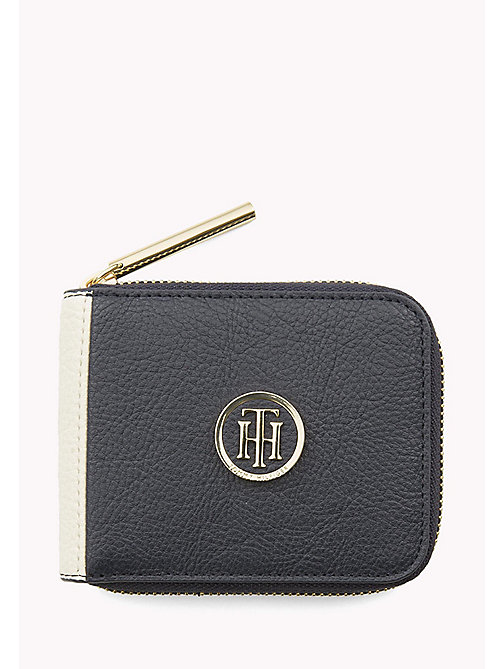 TOMMY HILFIGER Small Zip-Around Wallet - CORP MIX - TOMMY HILFIGER Wallets & Keyrings - main image