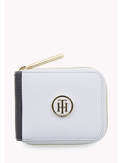 TOMMY HILFIGER Small Zip-Around Wallet - HEATHER MIX - TOMMY HILFIGER Wallets & Keyrings - main image