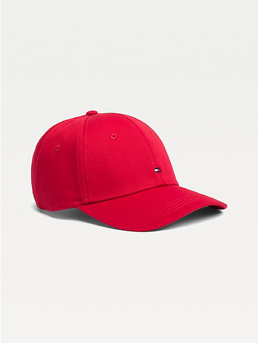 TOMMY HILFIGER CLASSIC BB CAP - TOMMY RED - TOMMY HILFIGER Mutsen - main image