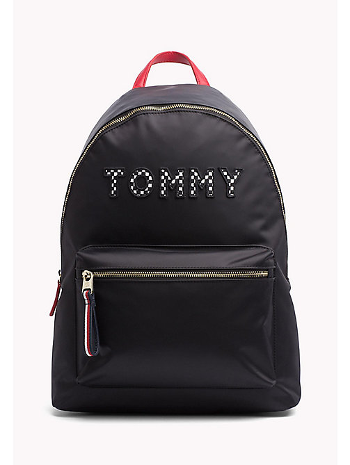 TOMMY HILFIGER Adjustable Racer Style Backpack - TOMMY PRINT - TOMMY HILFIGER Backpacks - main image