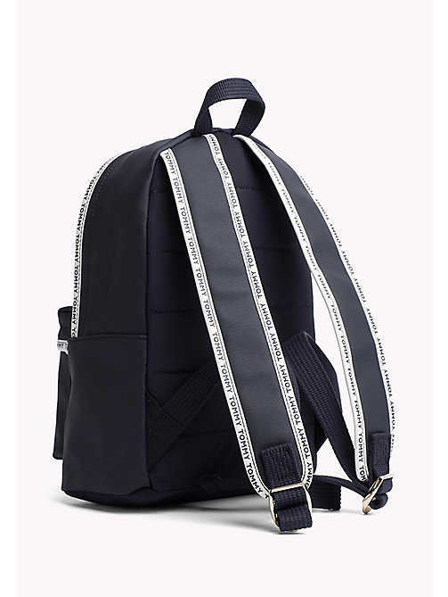 TOMMY HILFIGER Mini Canvas Backpack - TOMMY NAVY - TOMMY HILFIGER VACATION FOR HER - detail image 1