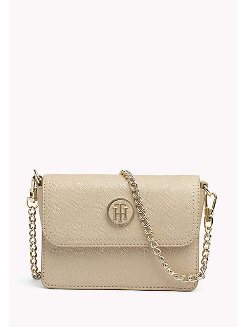 TOMMY HILFIGER Mini Crossbody Bag - GOLD - TOMMY HILFIGER Crossbody Bags - main image