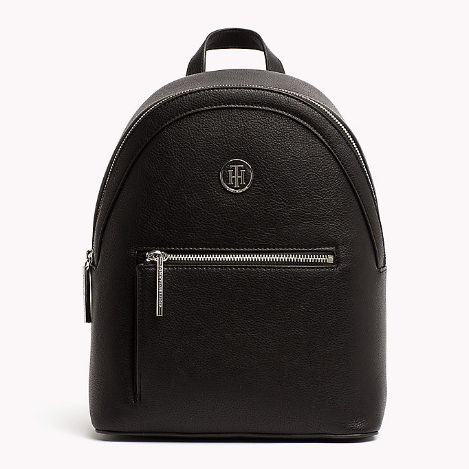 TOMMY HILFIGER Mini Backpack with Contrast Detailing - TOMMY NAVY - TOMMY HILFIGER Women - main image