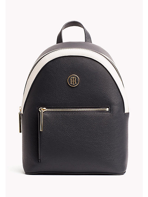 TOMMY HILFIGER Mini Backpack with Contrast Detailing - TOMMY NAVY - TOMMY HILFIGER Backpacks - main image