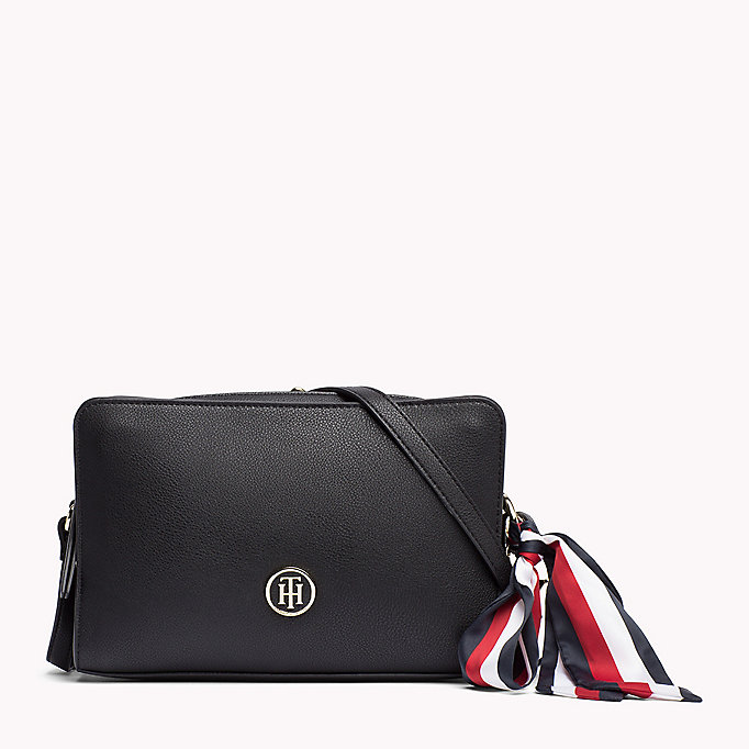 TOMMY HILFIGER Tommy Monogram Cross Body Bag - TOMMY NAVY - TOMMY HILFIGER Bags & Accessories - main image