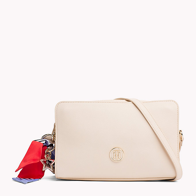 TOMMY HILFIGER Tommy Monogram Cross Body Bag - BLACK - TOMMY HILFIGER Bags & Accessories - main image
