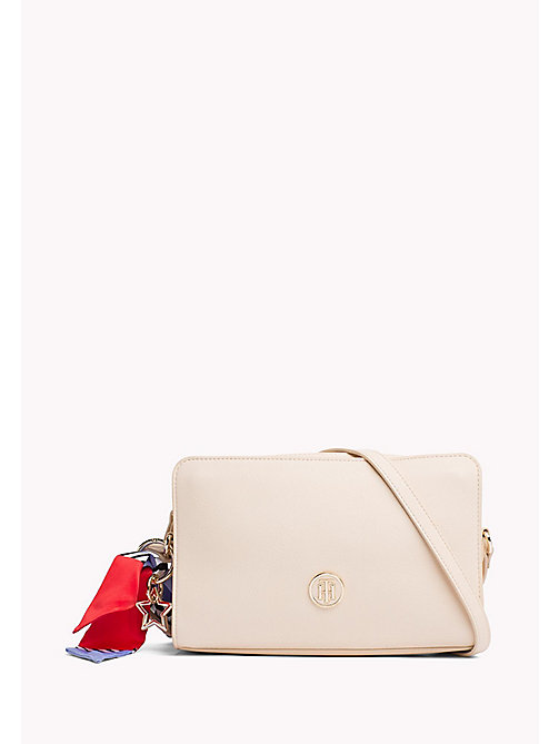 TOMMY HILFIGER Tommy Monogram Cross Body Bag - TAPIOCA - TOMMY HILFIGER Crossbody Bags - main image