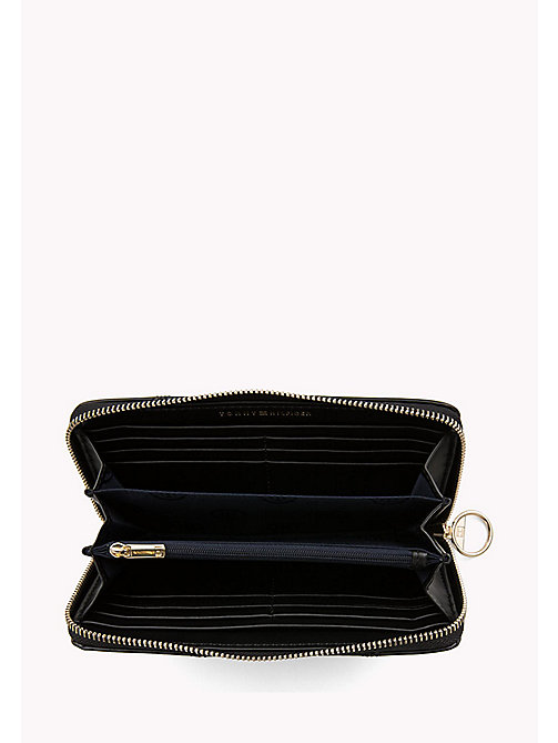 TOMMY HILFIGER Mascot Leather Wallet - BLACK - TOMMY HILFIGER Bags & Accessories - detail image 1