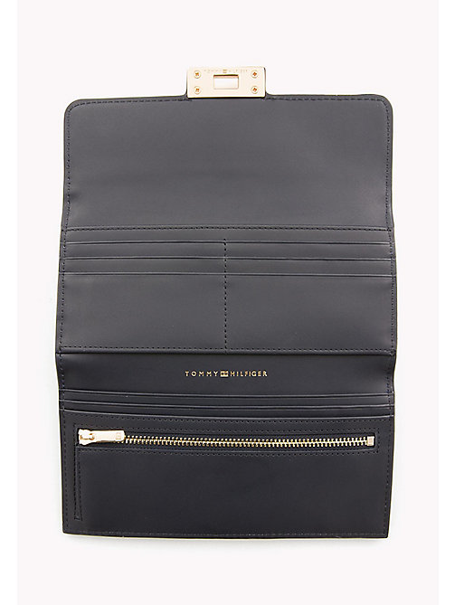 TOMMY HILFIGER Leather Turn Clasp Wallet - CORPORATE - TOMMY HILFIGER Bags & Accessories - detail image 1