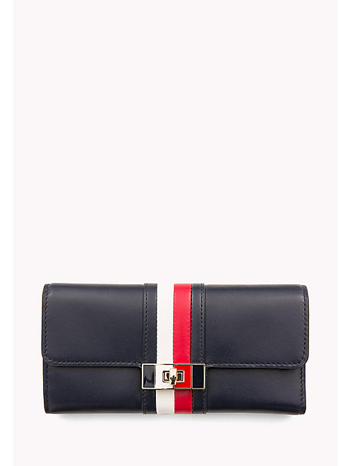 TOMMY HILFIGER Leather Turn Clasp Wallet - CORPORATE - TOMMY HILFIGER Wallets - main image