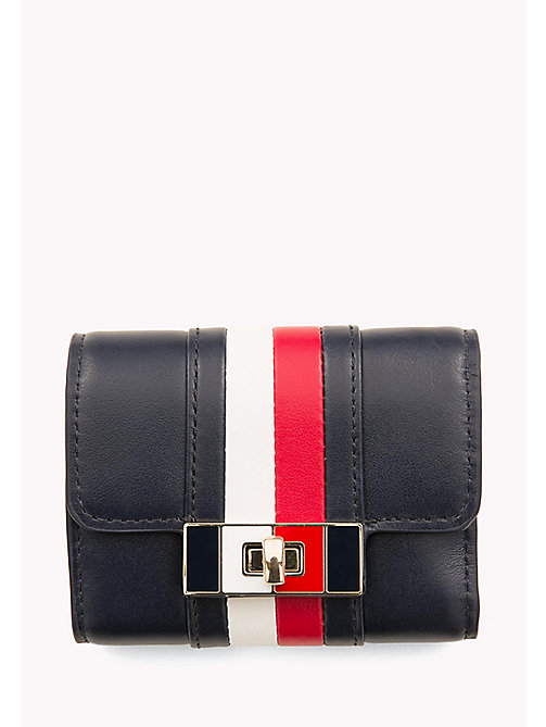 TOMMY HILFIGER Leather Flap Wallet - CORPORATE - TOMMY HILFIGER Women - main image