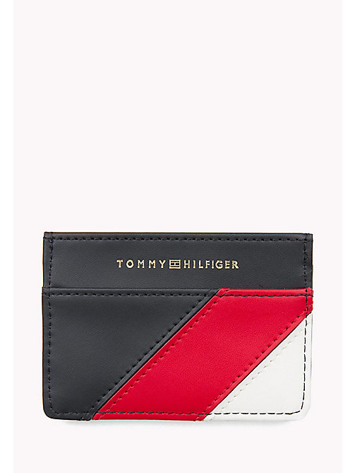 TOMMY HILFIGER Leather Mascot Cardholder - CORPORATE - TOMMY HILFIGER Women - detail image 1