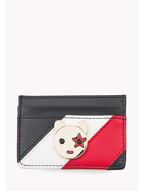 TOMMY HILFIGER Leather Mascot Cardholder - CORPORATE - TOMMY HILFIGER Women - main image