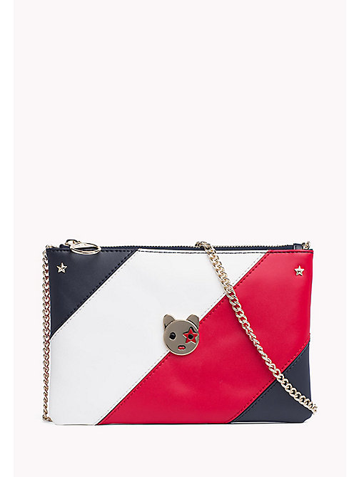 TOMMY HILFIGER Leather Pouch Handbag - CORPORATE - TOMMY HILFIGER Bags & Accessories - main image