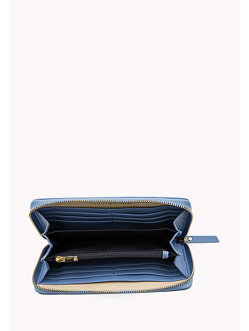 TOMMY HILFIGER Smooth Leather Zip Around Wallet - DUTCH BLUE MIX - TOMMY HILFIGER Women - detail image 1