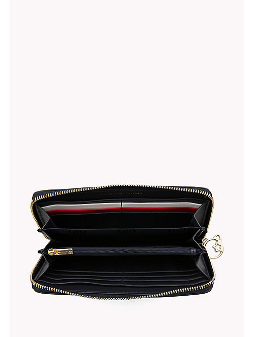 TOMMY HILFIGER Leather Zip Around Wallet - TOMMY NAVY - TOMMY HILFIGER Wallets - detail image 1