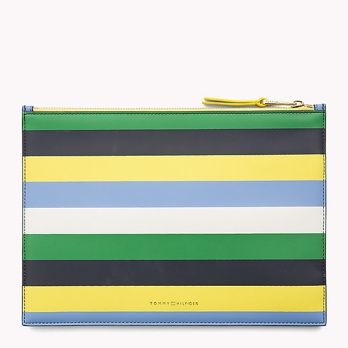 TOMMY HILFIGER Stripe iPad Pouch - CHECKER BOARD - TOMMY HILFIGER Women - detail image 1