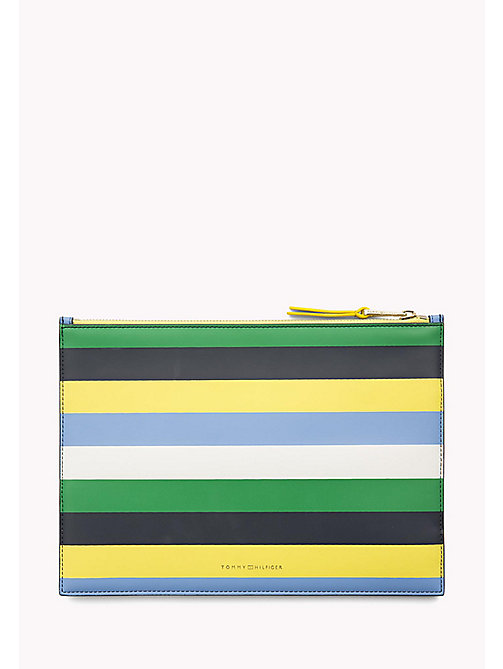 TOMMY HILFIGER Stripe iPad Pouch - SEASONAL CB - TOMMY HILFIGER Clutch Bags - detail image 1