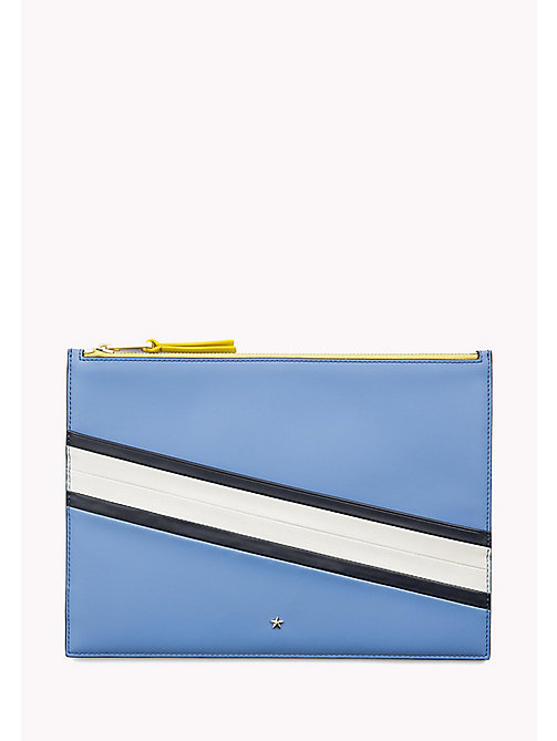 TOMMY HILFIGER Stripe iPad Pouch - SEASONAL CB - TOMMY HILFIGER Clutch Bags - main image