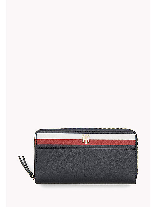 TOMMY HILFIGER Zip-Around Stripe Wallet - CORPORATE - TOMMY HILFIGER Purses - main image