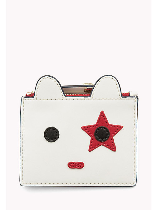 TOMMY HILFIGER Novelty Mascot Coin Purse - BRIGHT WHITE - TOMMY HILFIGER Bags & Accessories - main image