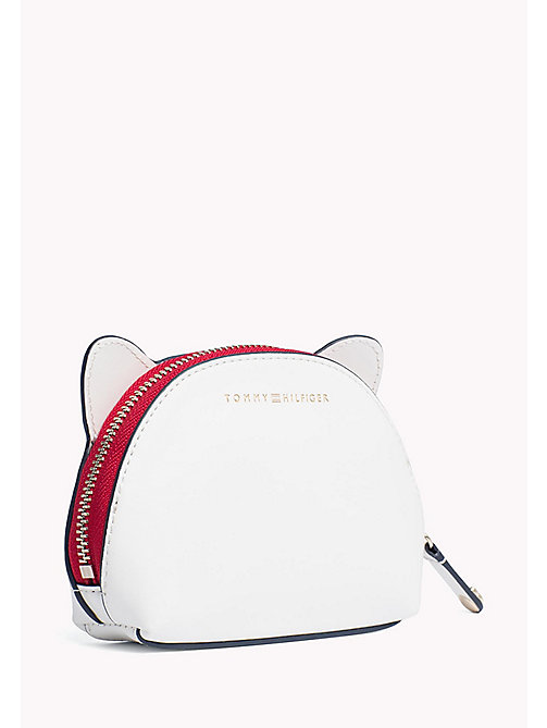 TOMMY HILFIGER Novelty Mascot Pouch - BRIGHT WHITE - TOMMY HILFIGER Women - detail image 1