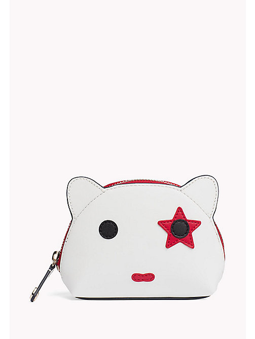 TOMMY HILFIGER Novelty Mascot Pouch - BRIGHT WHITE - TOMMY HILFIGER Purses - main image