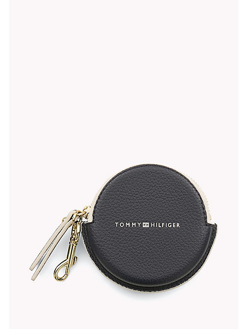 TOMMY HILFIGER Round Stripe Coin Purse - TOMMY NAVY STRIPE - TOMMY HILFIGER Purses - detail image 1
