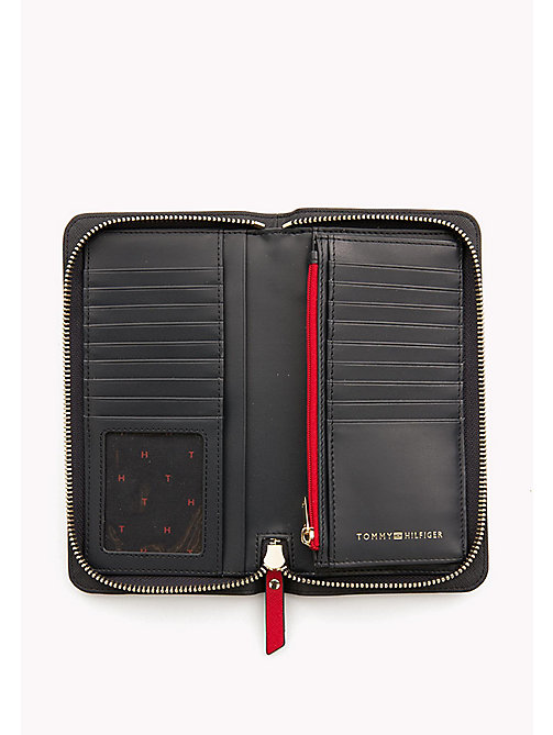 TOMMY HILFIGER Logo Zip Around Wallet - TOMMY RED/ TOMMY NAVY - TOMMY HILFIGER Wallets - detail image 1