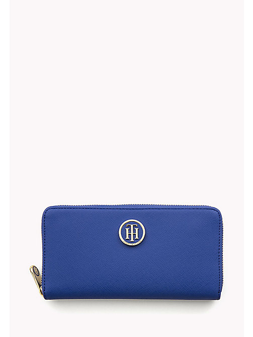 TOMMY HILFIGER Zip Around Monogram Wallet - SURF THE WEB - TOMMY HILFIGER Women - main image