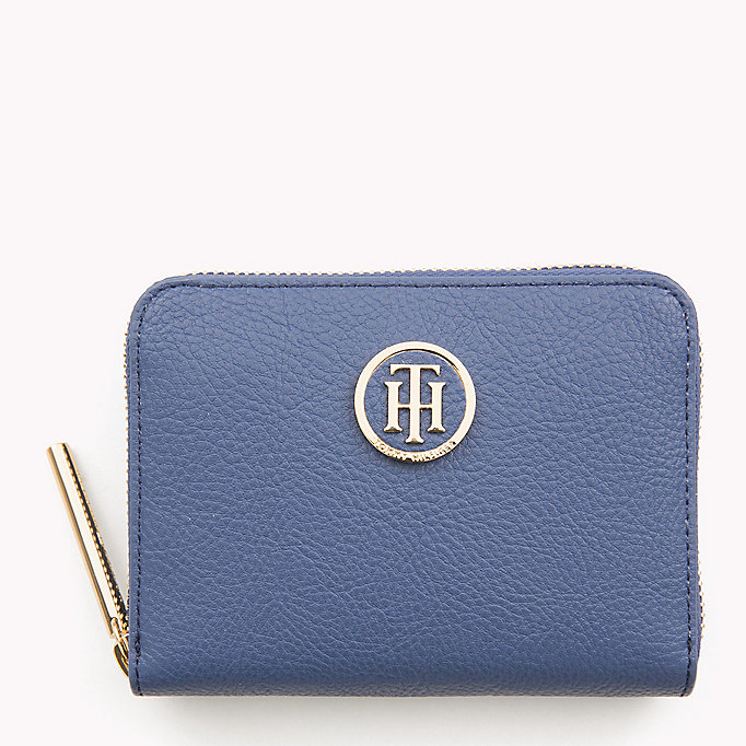 TOMMY HILFIGER Small Zip Purse - TOMMY NAVY - TOMMY HILFIGER Women - main image