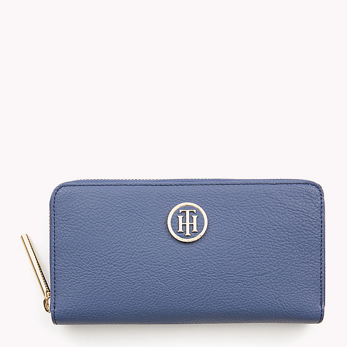 TOMMY HILFIGER TH CORE ZA WALLET - TOMMY NAVY - TOMMY HILFIGER Women - main image