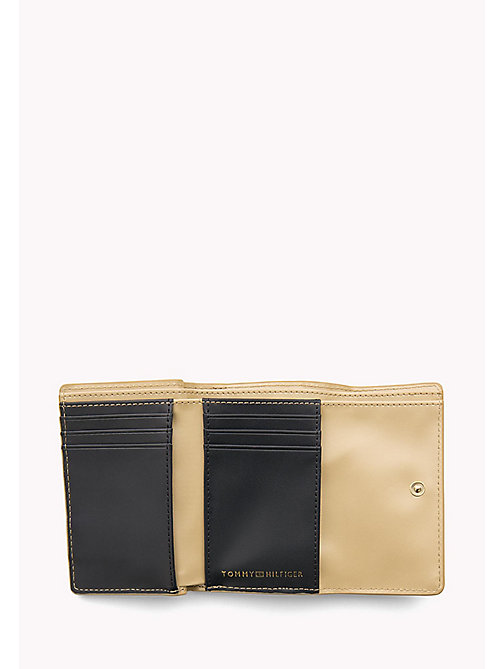 TOMMY HILFIGER Medium Flap Wallet - GOLD - TOMMY HILFIGER Women - detail image 1