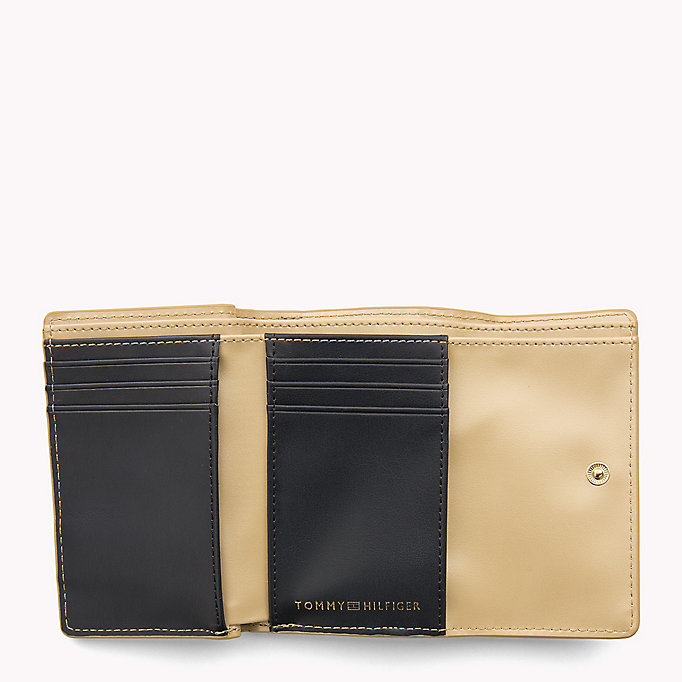 TOMMY HILFIGER Medium Flap Wallet - TOMMY NAVY / EDGE PAINT - TOMMY HILFIGER Women - detail image 2