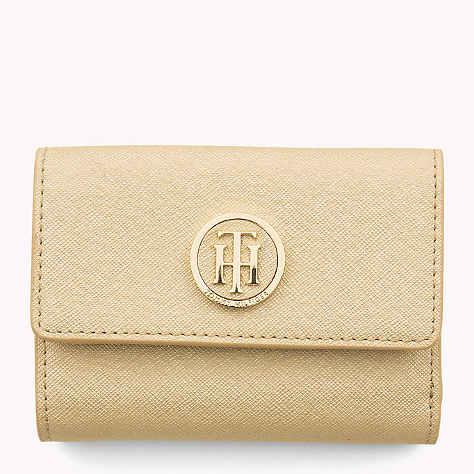 TOMMY HILFIGER Medium Flap Wallet - TOMMY NAVY / EDGE PAINT - TOMMY HILFIGER Women - main image