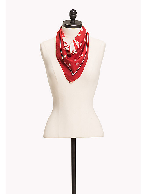 TOMMY HILFIGER Tommy Spot Bandana - TOMMY RED - TOMMY HILFIGER NEW IN - main image